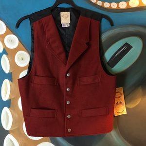 Scully 4 Pocket Wool Waistcoat